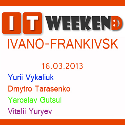 IT Weekend Ivano-Frankivsk