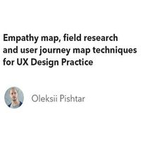 ІТ-Вечорниці: Empathy map, field research and user journey map techniques for UX Design Practice